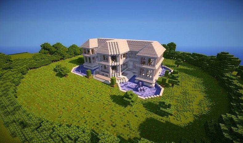 5.Projet villa minecraft