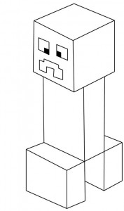 dessin minecraft creeper 2