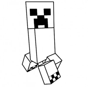 dessin minecraft creeper