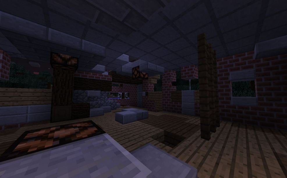 minecraft map survie 1.9 zombie settlement survie vue de l'interieur de la base