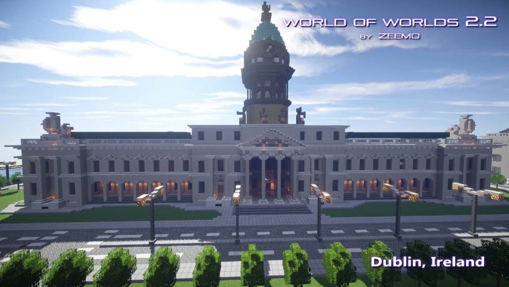 minecraft map world of world dublin