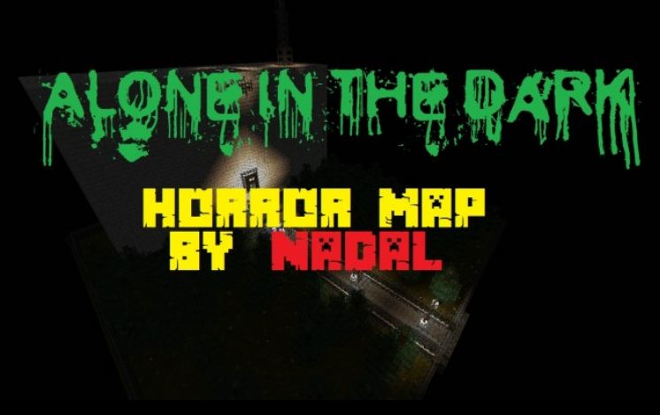 minecraft map horreur 1.8 alone in the dark