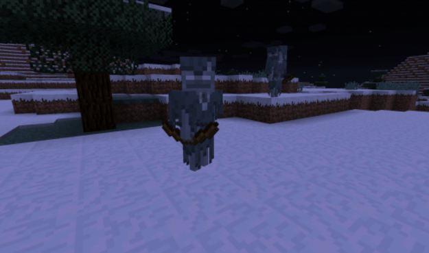 minecraft news nouveau mob squelette