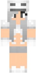 10.skin fille squelette