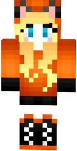 7.skin fille renard