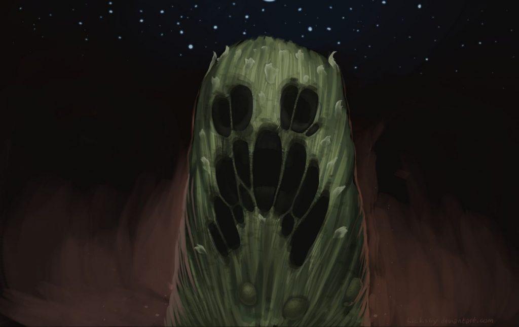 fond d'ecran minecraft creeper cauchemar