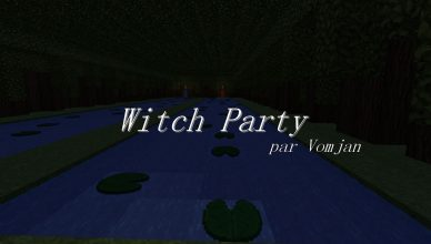 minecraft fr map deux joueur witch party