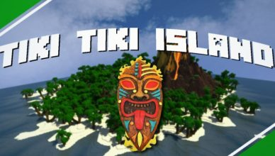 minecraft map survie tiki tiki island