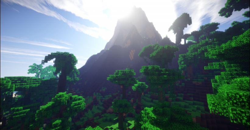 minecraft map survie tiki tiki island paysage magnifique