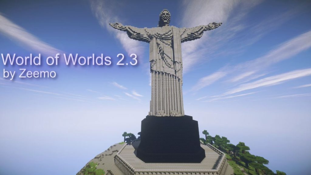 minecraft map world of worlds 2.3 rio