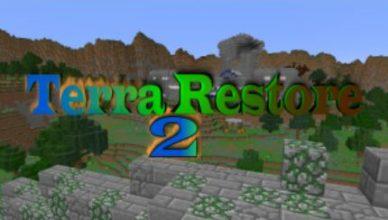 minecraft map aventure terra restore 2