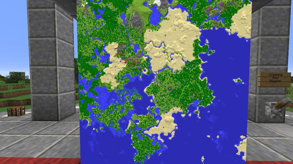 minecrafta map médiévale the witcher map
