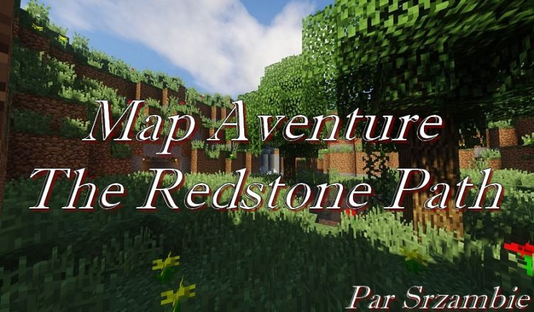the redstone path map aventure