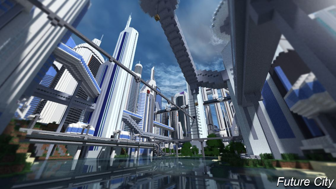 map minecraft future city 3.4 – lac