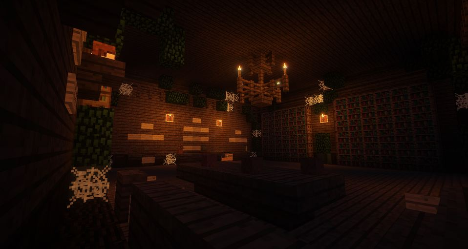 minecraft map aventure soulbound bibliothèque