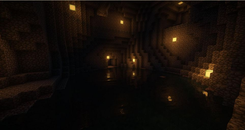 minecraft map aventure soulbound caverne