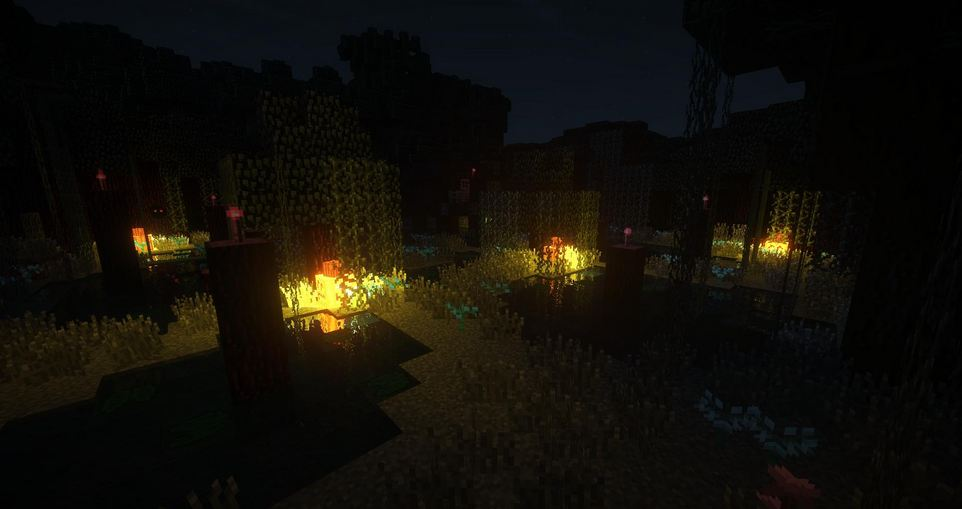 minecraft map aventure soulbound foret