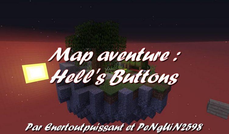 Minecraft map aventure Hell's Buttons