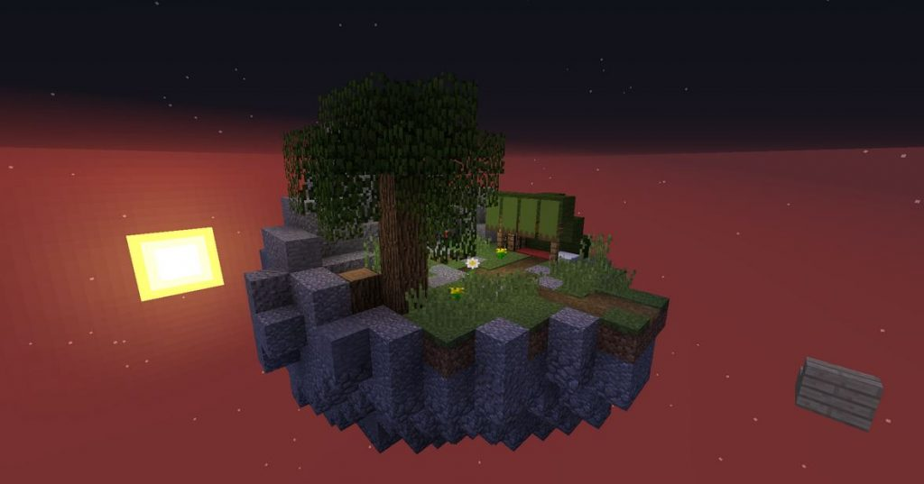 Minecraft map aventure Hell's Buttons ile