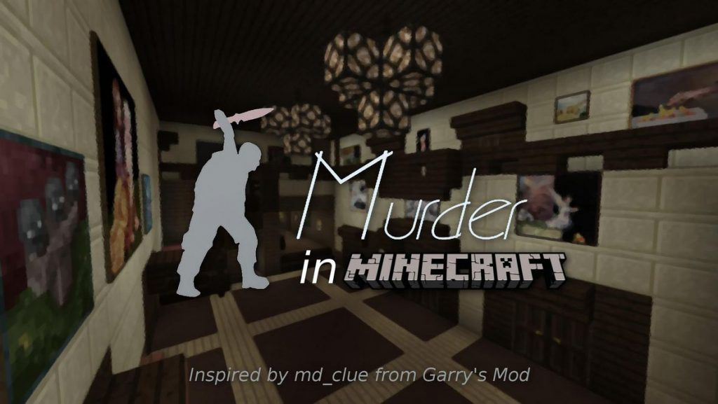 map jeux murder in minecraft