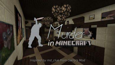 map jeux murder in minecraft