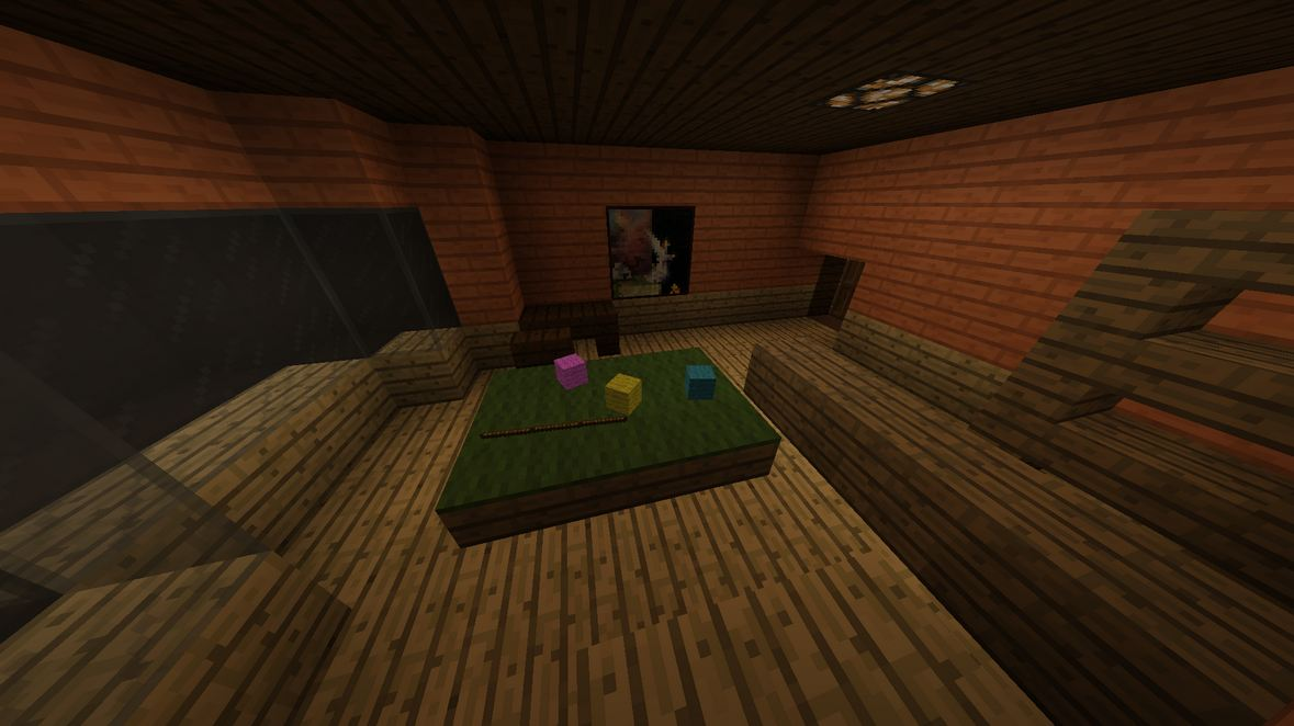 map jeux murder in minecraft la salle de billard