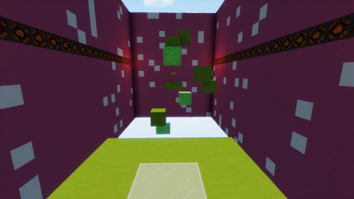 minecraft map jump 20 blocs epreuve