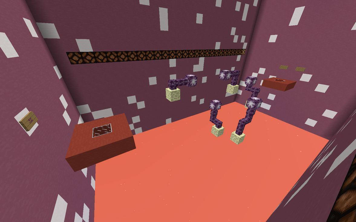 minecraft map jump 20 blocs saut