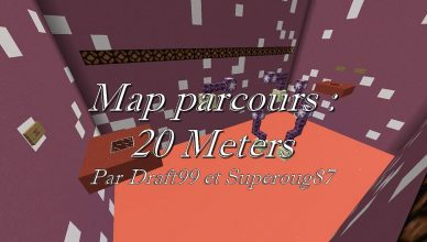 minecraft map jump 20 meters