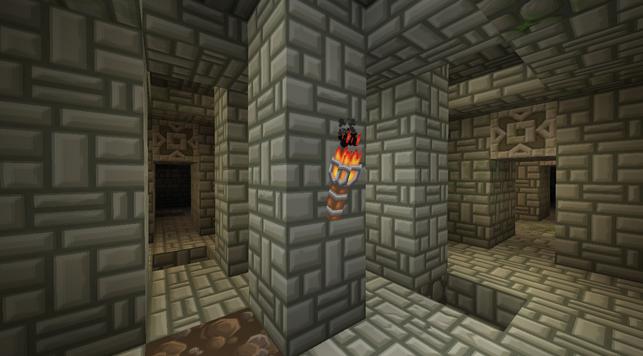minecraft mod dungeons, donjon interieur