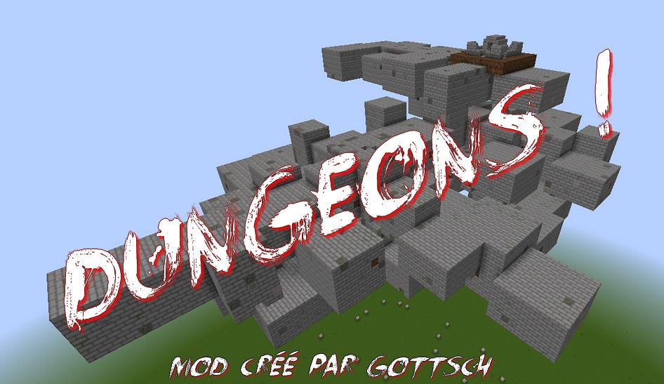 minecraft mod dungeons, donjon