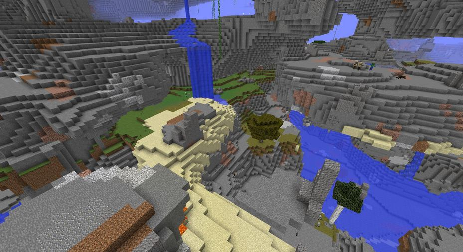minecraft mod underworld caverne