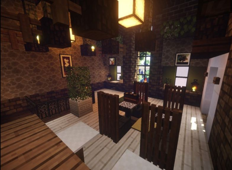 minecraft ressource pack 16×16 mizuno's 16 craft interieur maison
