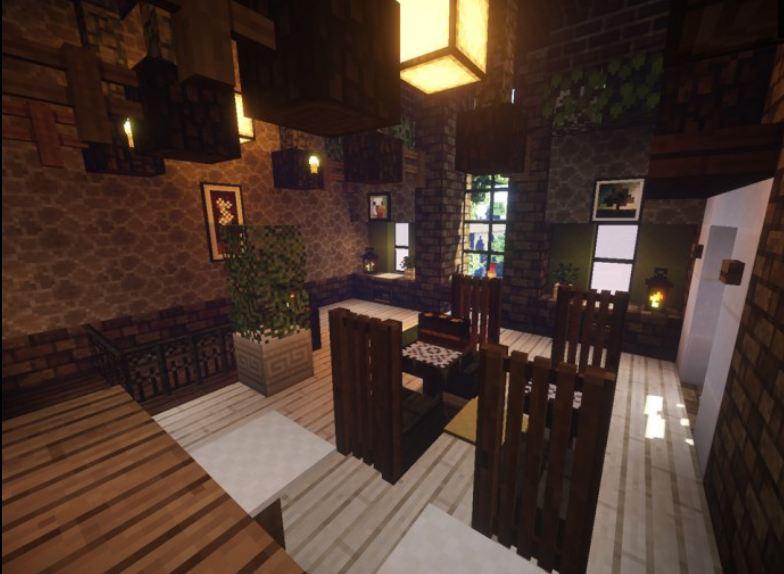Minecraft ressource pack 16x16 mizuno 39 s 16 craft interieur maison minec - Minecraft interieur maison ...