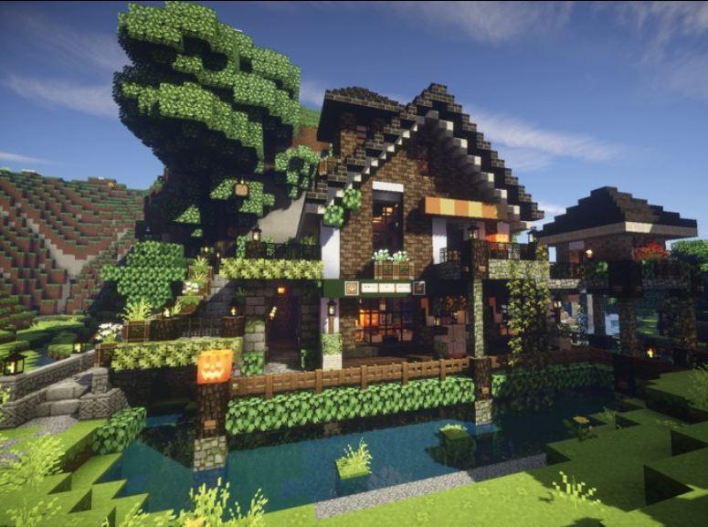 Minecraft ressource pack 16x16 mizuno 39 s 16 craft maison minecraft avent - Minecraft video maison ...
