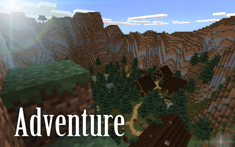 map-minecraft-pe-aventure-the-chambers-village