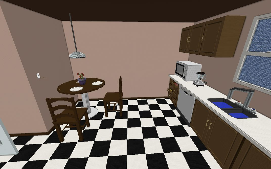 Minecraft map aventure crack the case cuisine geante for Cuisine minecraft