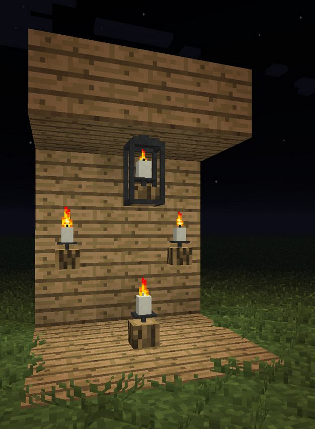 minecraft-mod-altcraft-candles-bougie-socle-en-bois