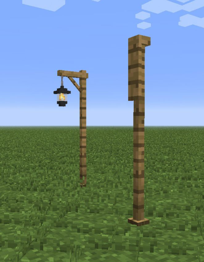 minecraft mod altcraft candles lampadaire - Lampadaire Minecraft