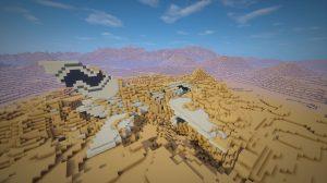 minecraft-map-survie-coarse-sands-avion-ensevelli