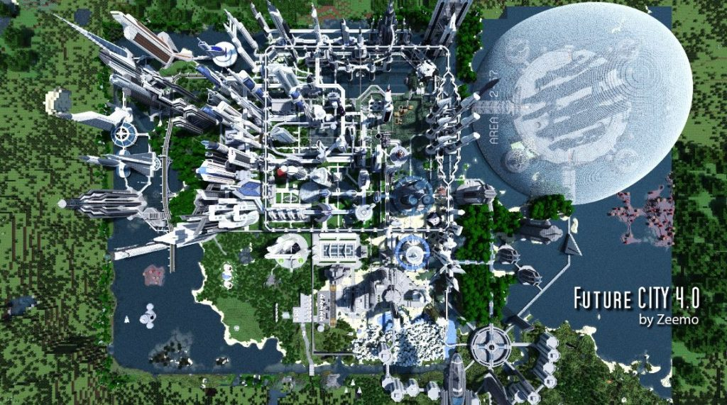 minecraft-map-ville-future-city-4-0-vue-de-haut