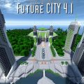 minecraft map ville future city 4.1 nouvelle serre horticole