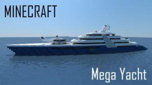 Minecraft Modern Mega Yacht