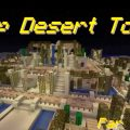 minecraft map ville desert town