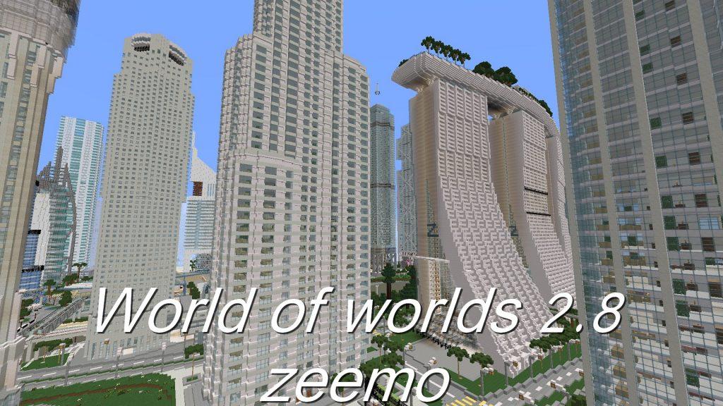 Map De Centre Ville Minecraft