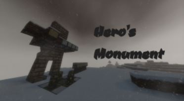 map aventure hero's monument