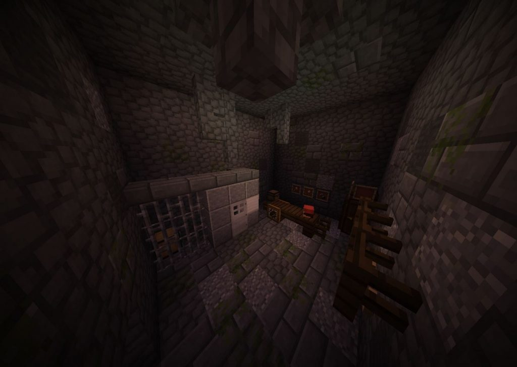 minecraft map aventure solo kidnapped cellule