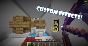 minecraft map solo parcours puzzle 1.11.2 bowzzle effets customisés