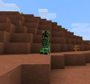 minecraft mod atomic creatures creepers