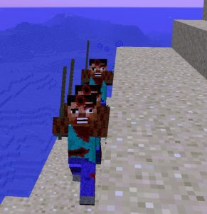 minecraft mod atomic creatures zombie